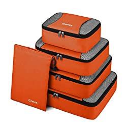 cubes d'emballage six orange gonex